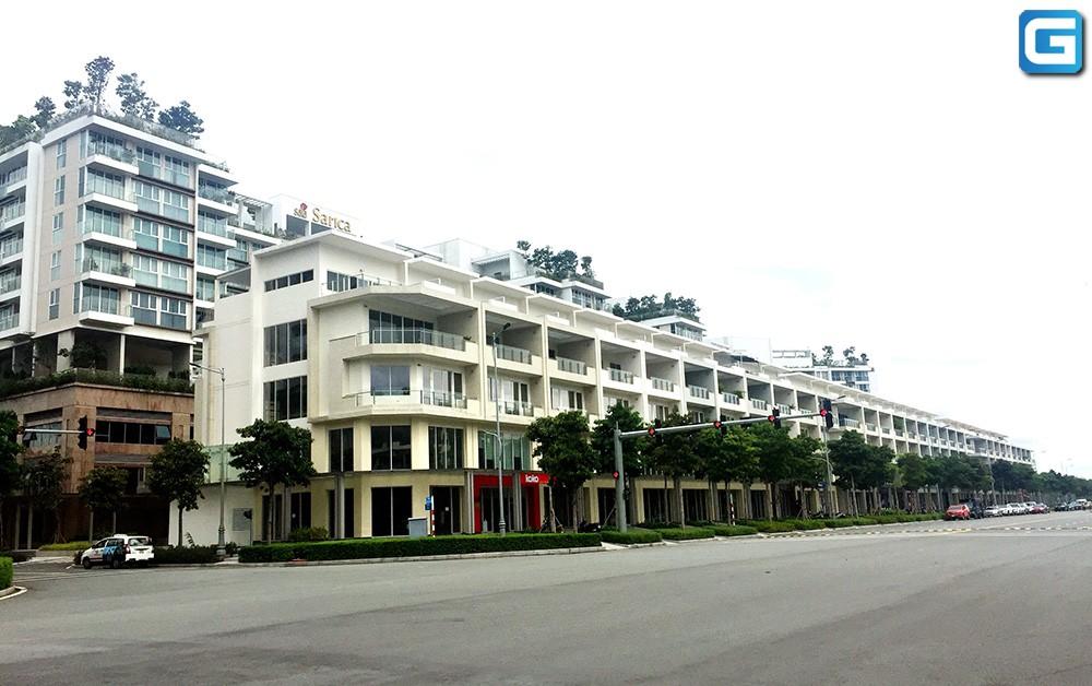 Cho thuê Shophouse Saritown Sala Hoàn thiện 5,7x15m Hầm, trệt, 3,5 Lầu
