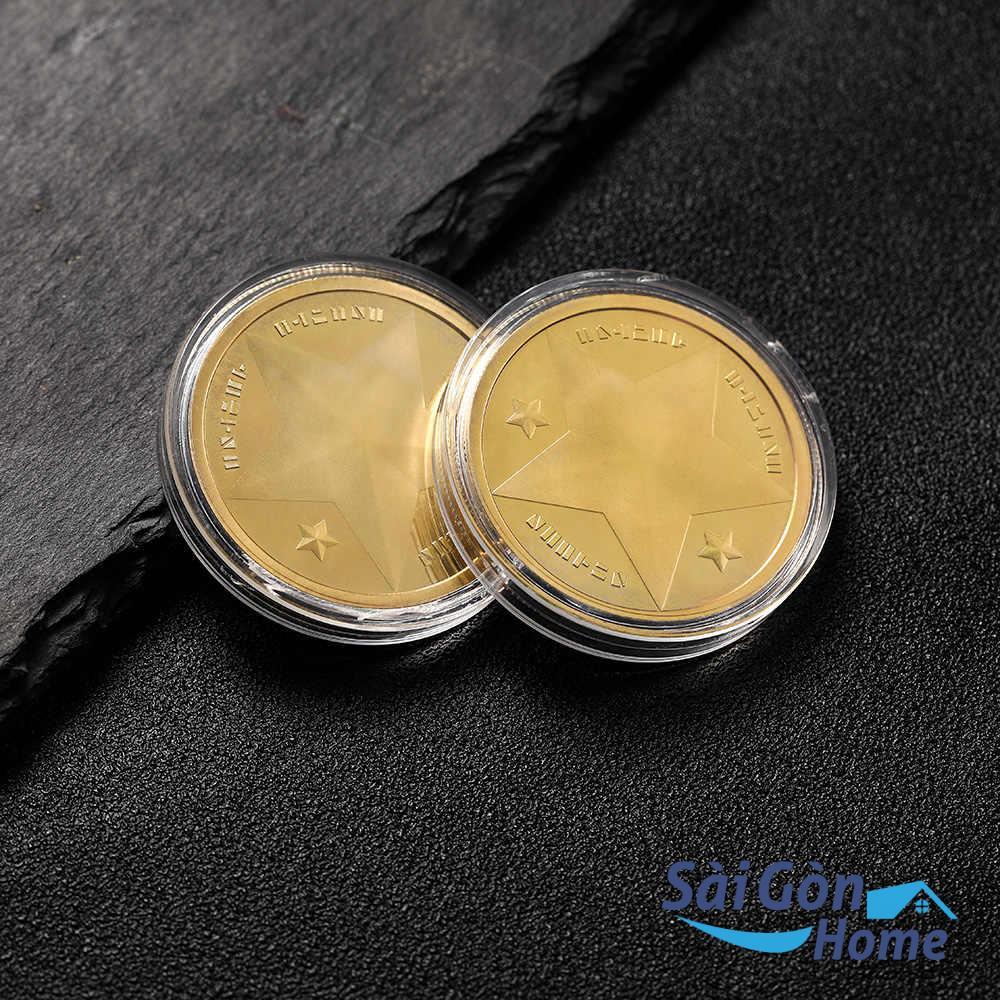 Đồng xu vàng là vật phong thủy được nhiều người lựa chọn